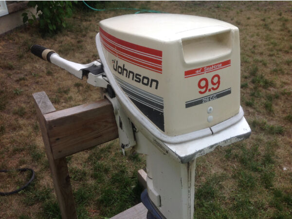 Used 1985 Johnson 9.9