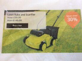 Brand new unopened lawn raker/scarifier