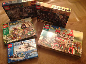 New Lego UCS, Hobbits, Lords of the Rings, Castle, City etc