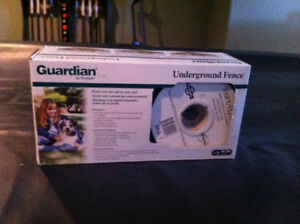 Underground fence for dogs
