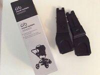 Car seat adaptors for Orb pushchair