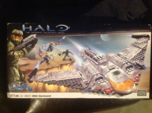Mega Bloks Halo 10Th Anniversary Unsc Shortsword 471 Pcs Set