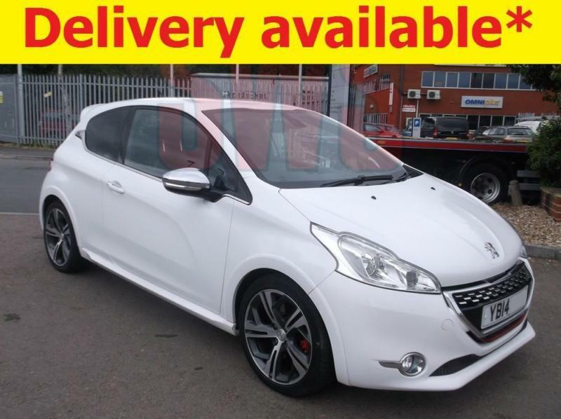 2014 peugeot 208 gti thp 1 6 damaged repairable salvage