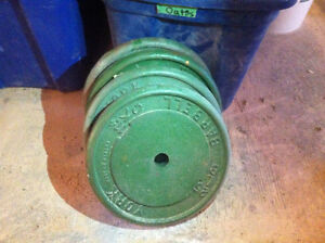 WEIGHTS 100 LBS BARBELL