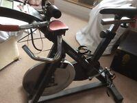 Kettler racer indoor exercise spin bike article no 07938-960