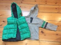 M&S boys Body Warmer, size 2-3 years old