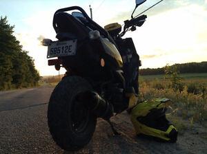Yamaha Zuma X 2014 4t modifié 70cc