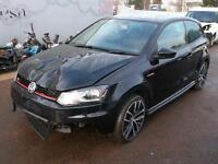 2015 Volkswagen Polo GTi 1.8 DAMAGED REPAIRABLE SALVAGE