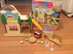 Calico Critters Rainbow Nursery Set