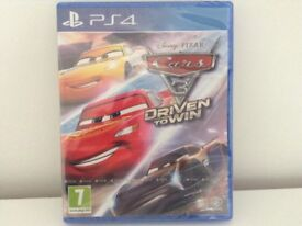 New & Sealed Disney Pixar CARS 3 - Driven To Win - PS4 Game Playstation 4