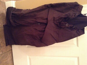 Women's brown snowpants