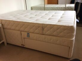 Slumberland 4' double bed and mattress