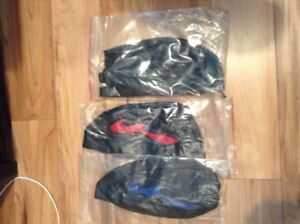 16 LEATHER SKULL CAPS FOR SALE AS A BUNDLE