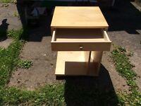 IKEA CHILD'S DESK / BEDSIDE TABLE