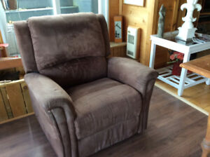 Fauteuil style lazy boy