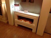 Targa Electric Fire Suite Ex Display