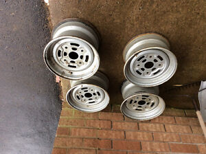 4 bolt steel rims