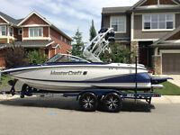 2014 Mastercraft X2 Surfing Boat and Trailer