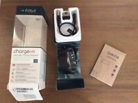 Large black Fitbit Charge HR