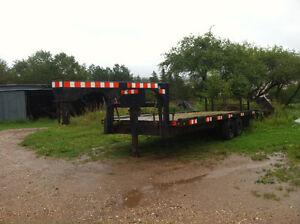 Gooseneck trailer - 22 feet