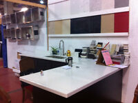 Marble-Granite and Quartz countertop