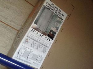 Brand new in box square shower