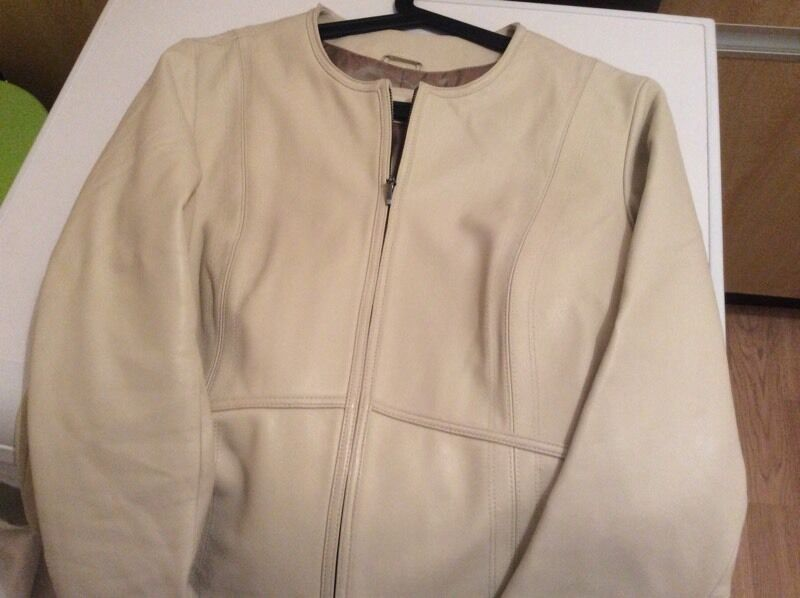 Leather jacket marks and spencerin Netley Abbey, HampshireGumtree - Leather jacket size 14 no offers collection only if interested please text 07972329080 very good condition