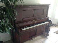 Piano Free for New Home -- moving sale.