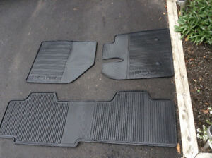 Ford Edge Weather mats