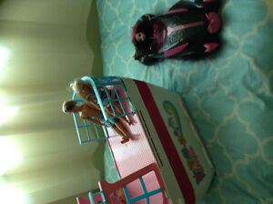BARBIE CRUISE SHIP, BARBIES AND MONSTER HIGH