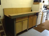 Quality Work Bench With Vice