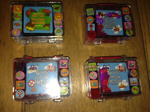 NEW WASHABLE INK PAD WITH FUN STAMPS