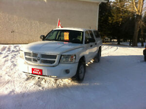2010 DODGE DAKOTA SXT CREW CAB 2 WLD