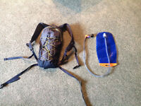 MEC... small backpack... Hydration pack as well..LIKE NEW