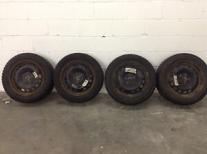 pneu d'HIVER avec jantes - 205/55R16