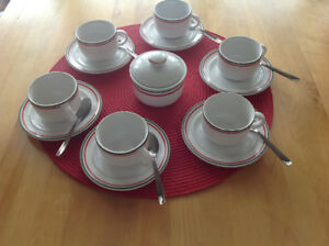 Italian Espresso Coffee Set for 6