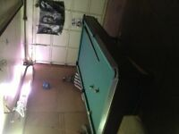 4x8 pool table for sale