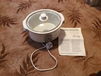 MORPHY RICHARDS HEALTH COOKER (SLOW COOKER), 3 SETTINGS, VGC