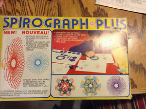 Vintage 1982 Kenner Spirograph Plus No. 14210