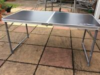 Large folding camping table