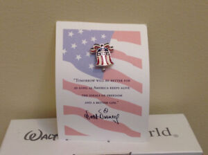"""Disney collectible pin - """"Let Freedom Ring"""""""
