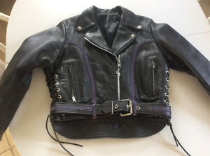 Quality women's leather riding gear
