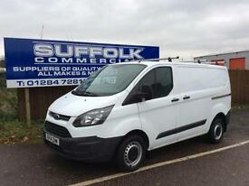 FORD TRANSIT CUSTOM-L1H1-290 100-**NO VAT**
