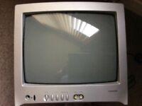 """Toshiba 13""""portable TV"""