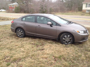 REDUCED- 2013 Honda Civic LX Sedan, 5spd manual