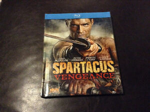 Spartacus Vengeance bluray