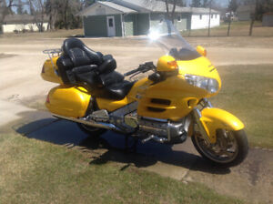 2001 Goldwing 1800.  -$6000.00