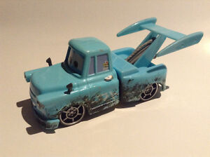 Disney Pixar Cars Tokyo Mater with Oil Stains #14 Deluxe TOON