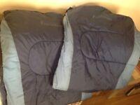 ProAction sleeping bags x 2