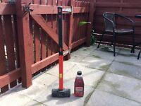 Am tech sledge hammer also Carlube 2 stroke motor oil